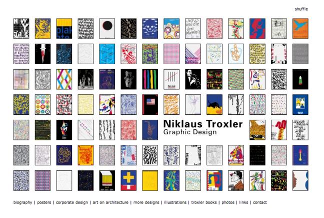 Site de Niklaus Troxler